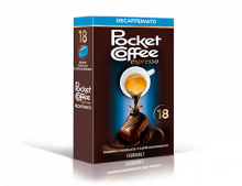 Pocket Coffee - Decaffeinato T18