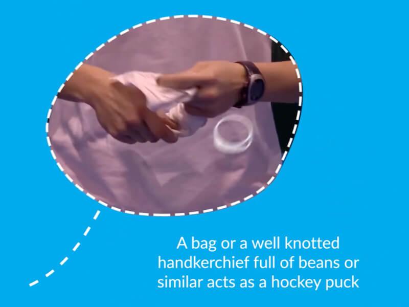 Video still of Hand Hockey