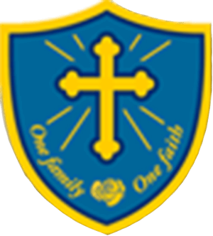 Larmenier and Sacred Heart Primary School logo