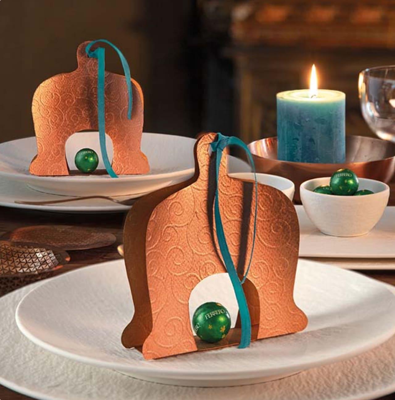 8 weihnachtliche Tischdeko Ideen für die Festtafel