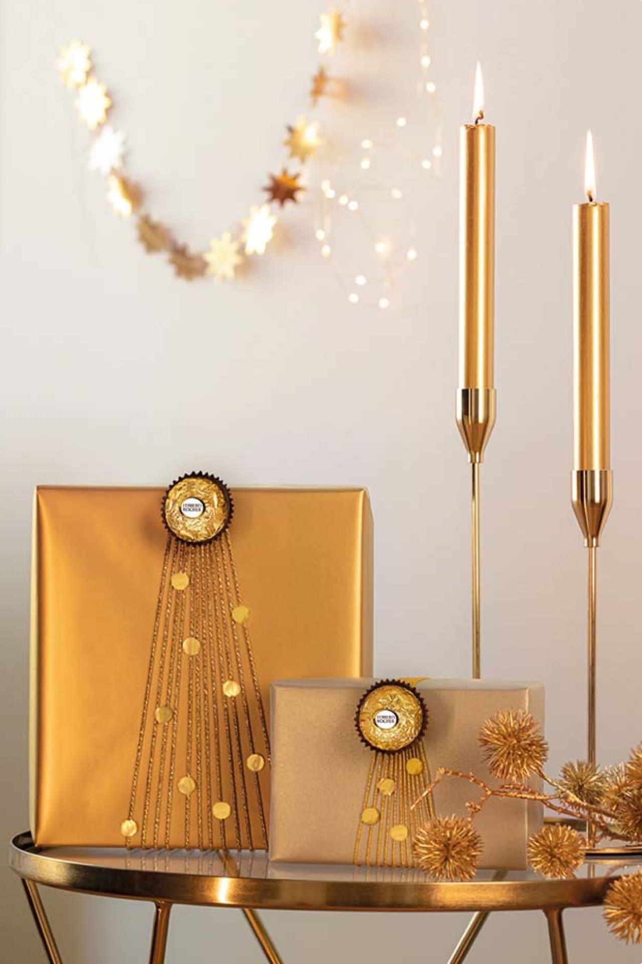 8 Ideen für weihnachtliche Geschenkverpackungen