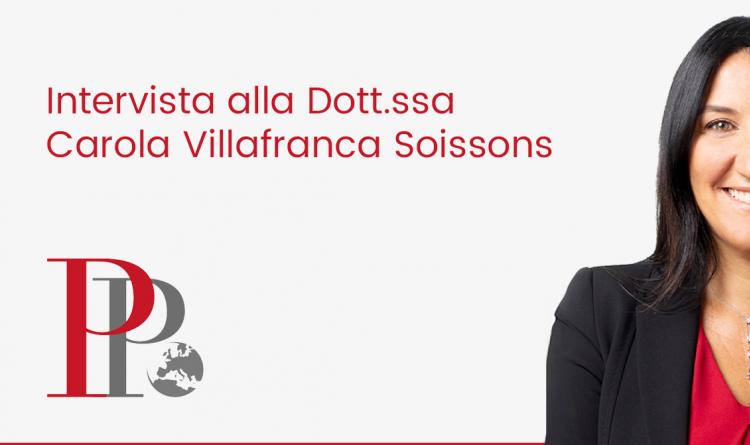 Intervista alla dott.ssa Carola Villafranca Soissons