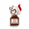 May this Christmas bring you love and Nutella